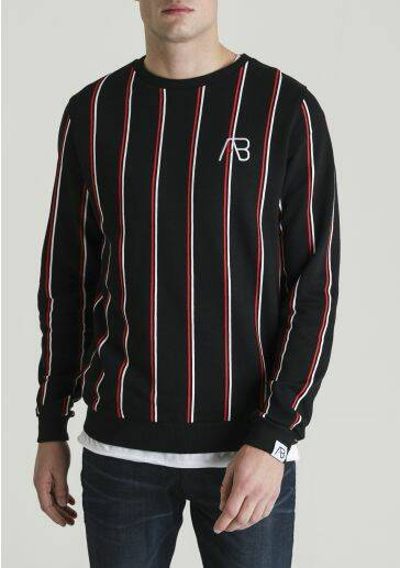 LONDON STRIPED SWEAT